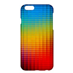 Blurred Color Pixels Apple Iphone 6 Plus/6s Plus Hardshell Case by BangZart