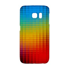 Blurred Color Pixels Galaxy S6 Edge by BangZart