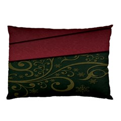 Beautiful Floral Textured Pillow Case by BangZart