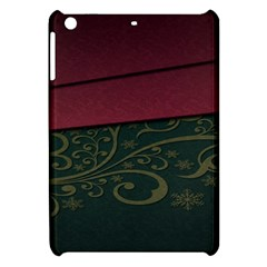 Beautiful Floral Textured Apple Ipad Mini Hardshell Case by BangZart