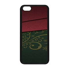 Beautiful Floral Textured Apple Iphone 5c Seamless Case (black) by BangZart