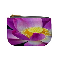 Pink Lotus Flower Mini Coin Purses by BangZart