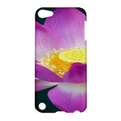 Pink Lotus Flower Apple Ipod Touch 5 Hardshell Case by BangZart