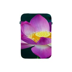 Pink Lotus Flower Apple Ipad Mini Protective Soft Cases by BangZart