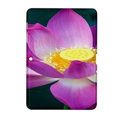 Pink Lotus Flower Samsung Galaxy Tab 2 (10 1 ) P5100 Hardshell Case  by BangZart