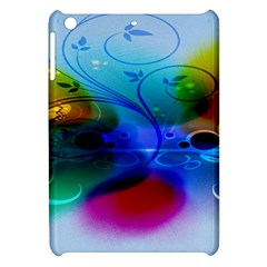 Abstract Color Plants Apple Ipad Mini Hardshell Case by BangZart