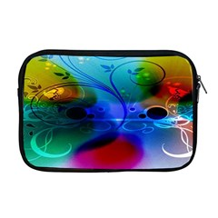 Abstract Color Plants Apple Macbook Pro 17  Zipper Case by BangZart