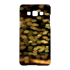 Blurry Sparks Samsung Galaxy A5 Hardshell Case  by BangZart