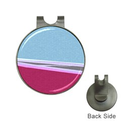 Cracked Tile Hat Clips With Golf Markers by BangZart