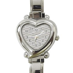Roof Texture Heart Italian Charm Watch by BangZart