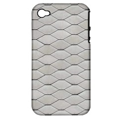 Roof Texture Apple Iphone 4/4s Hardshell Case (pc+silicone) by BangZart