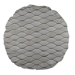 Roof Texture Large 18  Premium Flano Round Cushions by BangZart