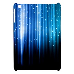 Blue Abstract Vectical Lines Apple Ipad Mini Hardshell Case by BangZart