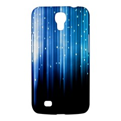 Blue Abstract Vectical Lines Samsung Galaxy Mega 6 3  I9200 Hardshell Case by BangZart