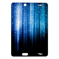 Blue Abstract Vectical Lines Amazon Kindle Fire Hd (2013) Hardshell Case by BangZart