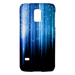 Blue Abstract Vectical Lines Galaxy S5 Mini by BangZart