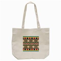 Tribal Pattern Tote Bag (cream) by BangZart