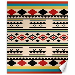 Tribal Pattern Canvas 8  X 10  by BangZart