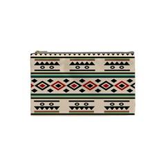 Tribal Pattern Cosmetic Bag (small)  by BangZart