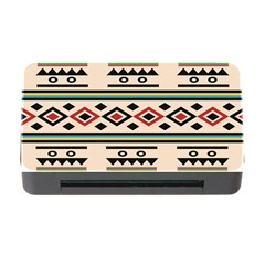Tribal Pattern Memory Card Reader With Cf by BangZart