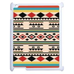 Tribal Pattern Apple Ipad 2 Case (white) by BangZart