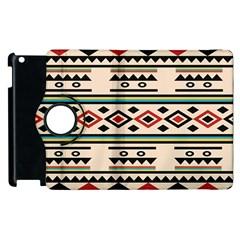 Tribal Pattern Apple Ipad 2 Flip 360 Case by BangZart