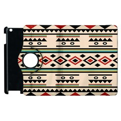 Tribal Pattern Apple Ipad 3/4 Flip 360 Case by BangZart