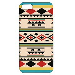 Tribal Pattern Apple Iphone 5 Hardshell Case With Stand by BangZart