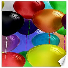 Colorful Balloons Render Canvas 20  X 20   by BangZart