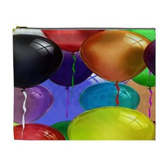 Colorful Balloons Render Cosmetic Bag (xl) by BangZart
