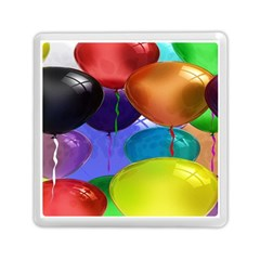 Colorful Balloons Render Memory Card Reader (square)  by BangZart