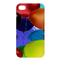 Colorful Balloons Render Apple Iphone 4/4s Hardshell Case by BangZart