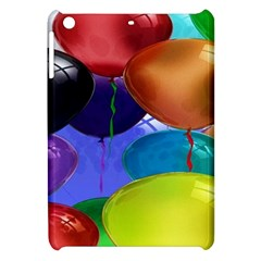 Colorful Balloons Render Apple Ipad Mini Hardshell Case by BangZart
