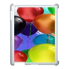 Colorful Balloons Render Apple Ipad 3/4 Case (white) by BangZart