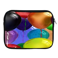 Colorful Balloons Render Apple Ipad 2/3/4 Zipper Cases by BangZart