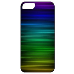 Blue And Green Lines Apple Iphone 5 Classic Hardshell Case by BangZart