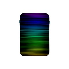 Blue And Green Lines Apple Ipad Mini Protective Soft Cases by BangZart