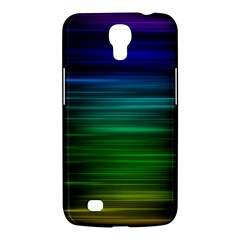 Blue And Green Lines Samsung Galaxy Mega 6 3  I9200 Hardshell Case by BangZart