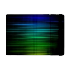 Blue And Green Lines Ipad Mini 2 Flip Cases by BangZart