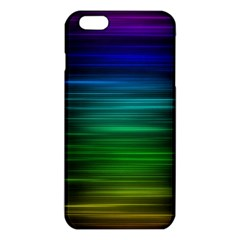 Blue And Green Lines Iphone 6 Plus/6s Plus Tpu Case by BangZart