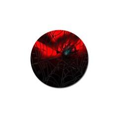 Spider Webs Golf Ball Marker (10 Pack) by BangZart