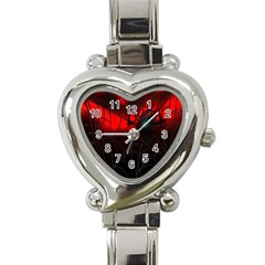 Spider Webs Heart Italian Charm Watch by BangZart
