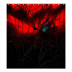 Spider Webs Shower Curtain 66  X 72  (large)  by BangZart