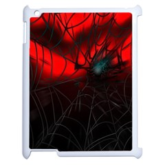 Spider Webs Apple Ipad 2 Case (white) by BangZart