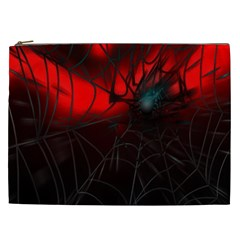 Spider Webs Cosmetic Bag (xxl)  by BangZart