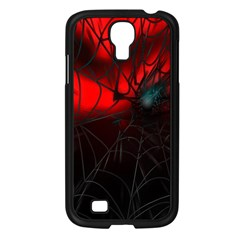 Spider Webs Samsung Galaxy S4 I9500/ I9505 Case (black) by BangZart