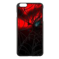 Spider Webs Apple Iphone 6 Plus/6s Plus Black Enamel Case by BangZart