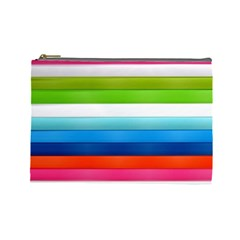 Colorful Plasticine Cosmetic Bag (large)  by BangZart