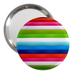 Colorful Plasticine 3  Handbag Mirrors by BangZart