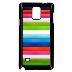 Colorful Plasticine Samsung Galaxy Note 4 Case (black) by BangZart